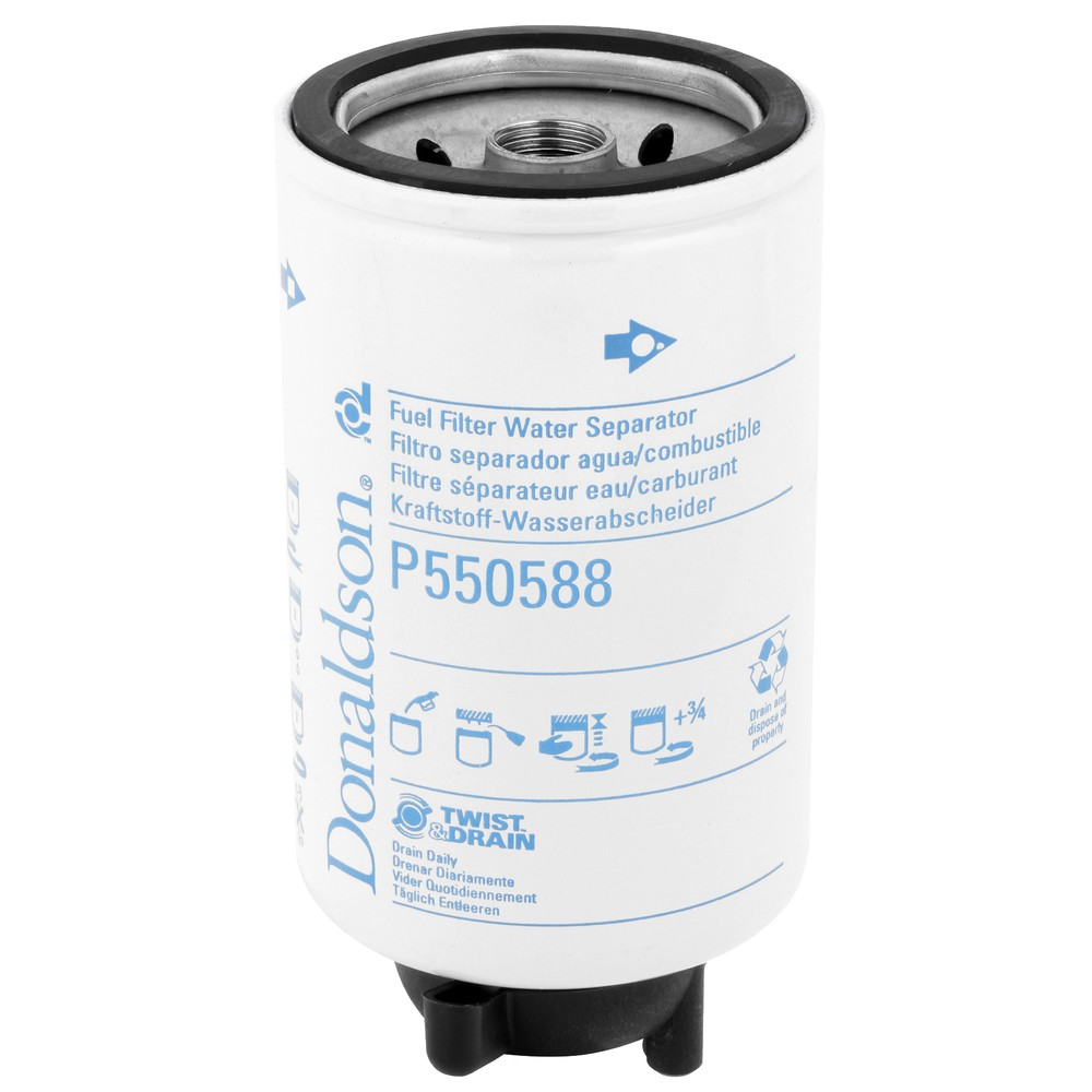 Fuel Filter Water Separator Dfp550588 Ikh Perkins Filters
