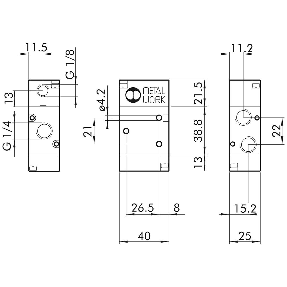 Pneumatic Control Valve 3 2 1 4 Pnv33pnsnc Mwp7020010200 Ikh Belarus Tractor Wiring Diagram