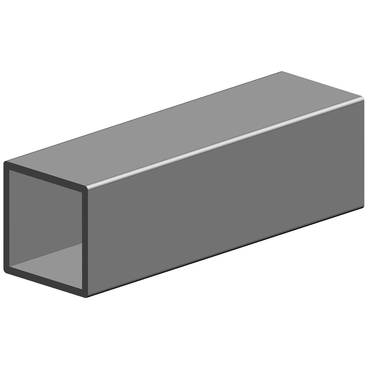 Alumiini neliöputki 30×30