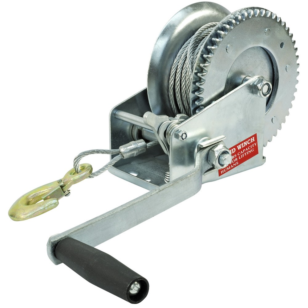 Wire Winch 725kg Manual Xk6090 Ikh How To A