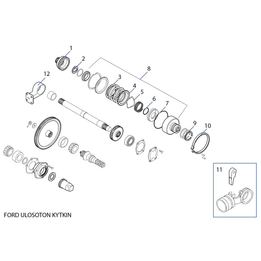 Ford 5000 Pto Diagram | Repair Manual