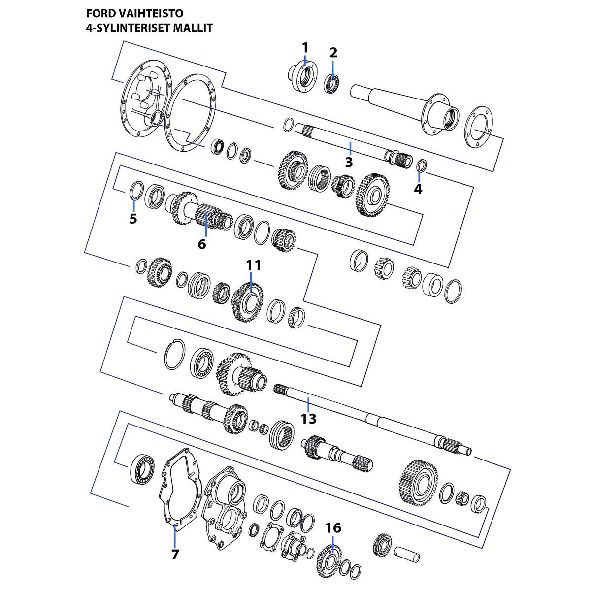 Hub Pto Drive Ford 83936827 F0497 Ikh 5900 Wiring Diagram