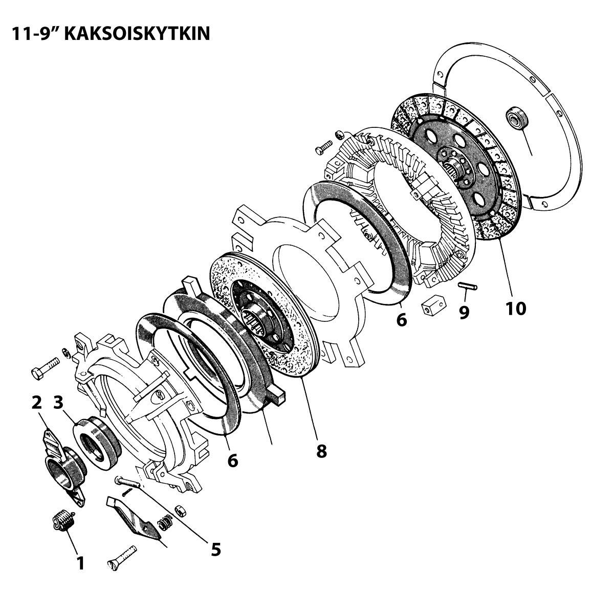Release Bearing Mf Ford Luk500019940 Ikh Zetor Tractor Wiring Diagram